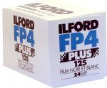 Ilford FP4 125 iso 24 exposure Black & White Camera Film